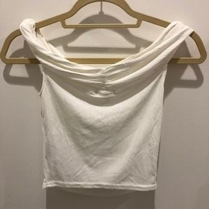 NWT UO | Creamy White Off the Shoulder Top